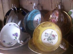 Hertfordhire Walkern Afternoon Tea Vintage China