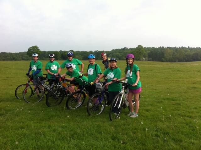 20/50 Charity Ride 2014